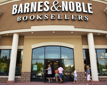 (AP Photo/Dave Martin) The nation's largest booksellers said criminals tampered with devices customers use to swipe credit and debit cards in 63 of its stores. It said it is working with federal law enforcement, banks and card issuers to identify the accounts that were compromised.