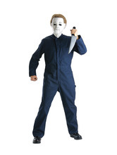 This undated product image released by Part City shows a boys costume depicting the horror figure Michael Myers from the