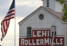 Paul Fraughton | Salt Lake Tribune THe Lehi Roller Mills in Lehi is an icon in art and film.  Thursday, July 19, 2012