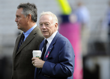 Nick Wass  |  AP file photo In an incredible coincidence, Cowboys owner Jerry Jones hired a personnel guy named Jerry Jones.